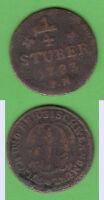 Cu 1/4 Stüber Jülich-Kleve-Berg Karl Theodor Noss 989 stampsdealer