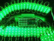 RGB 5050 SMD LED Module Light 12V Tape 60 Pcs X 3 LEDS Store Front Window Sign