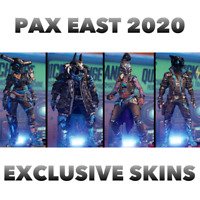 Borderlands 3 | Like, Follow and Obey Skins and Heads PAX East | XBOX / PS4