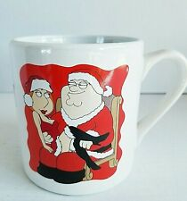 Family Guy 2011 Television Memorabilia Christmas Coffee Cup Mug Oversized