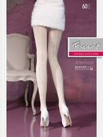 FIORE Artemida 60 Denier Super Fine Microfibre 3D Patterned Tights - 6 Colours