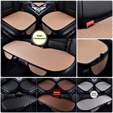 Car SUV Wear Resistant Ice Silk Seat Cover Anti-Slip Silicone Cushion Front/Rear