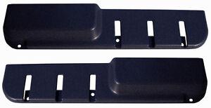 VOLVO 240 door pocket map pocket door panel blue color pair new  set of 2