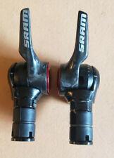 SRAM 1090 R2C TT/Triathlon Carbon Bar End Shifters,10 Speed, VGC, Free USA Ship
