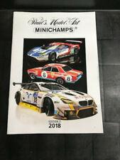 Minichamps Catalogue 2018 Edition 2