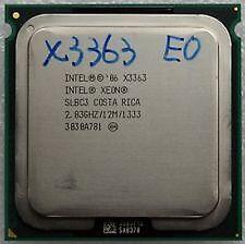 Modified Intel Quad Core Xeon X3363 CPU Processor (better than a Q9550)  *RARE*