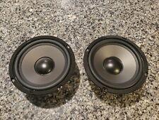 """2 Dayton T L Yd166-12A 4 ohms 30W 6 1/2"""" Speaker"""