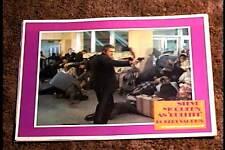BULLIT 1969 LOBBY CARD #3 STEVE MCQUEEN GREAT CARD CLASSIC