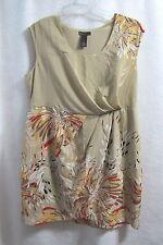 New Womens  Lane Bryant Beige  Dress Size 18