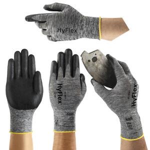 Ansell HyFlex 11-801 12 Paar Mehrzweckhandschuhe Arbeitshandschuhe Handschuhe