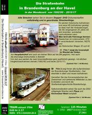 Die Straßenbahn in Brandenburg a.d. Havel / 3 Stunden (!)  Doppel DVD
