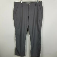 Under Armour Loose Flat Front Gray Mens Golf Dress Pants Size 38x30