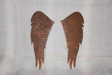 Flügel Engel Rost Engelsflügel 30 cm Metall Rost Deko Basteln Weihnachten Paar