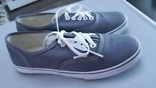 Vans Authentic Size Mens-6 and Womans-4.5 Pewter Grey