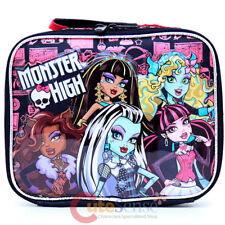 Monster High School Lunch Bag Insulated Food Snack Box Girls Bag - Freaky Fusion