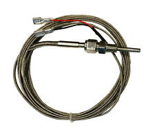 Temp Thermocouple K type, stainless Steel Probe, 12 ft (3.66M), Teflon sealed
