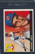 1955 Topps #101 Johnny Gray A's VG/EX 55T101-92215-5