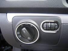 D VW Golf 6 Chrom Rahmen für den Lichtschalter - Edelstahl poliert