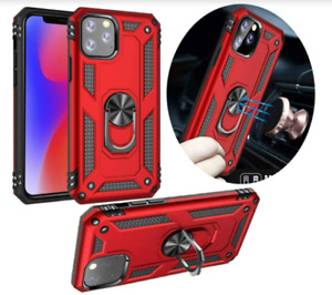 Apple IPhone 11 Pro Max Case Kickstand Flexible TPU Resistant Cover Shockproof ⭐