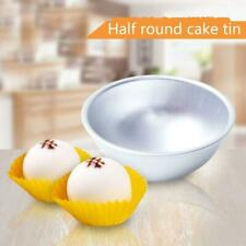 1/4X Ball Shape Round Half Sphere Cake Pan Tin Fondant Cake Mold E2E2 Mold B7A1