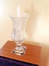 MAGNIFICENT CRYSTAL CANDELABRA (NEVER USED)