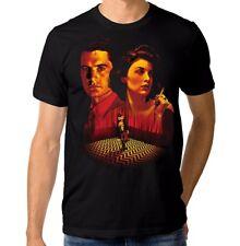 Twin Peaks Art T-Shirt, Dale Cooper Audrey Horne Men's Women's Tee, All Sizes