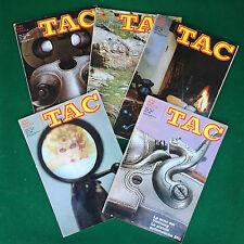 Rivista/Magazine (ITA) TAC tiro armi caccia n.4-6-7-10-11 (1968) Lotto 5 Riviste