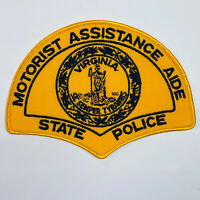 Motorist Assistance Aide Virginia State Police VA Patch (B4)