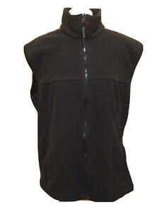 """Men's Regatta Great Outdoors Fleece Bodywarmer Gilet U.K. XL 44"""" Black T2171"""