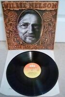 "Willie Nelson ‎– Tougher Than Leather Vinyl 12"" LP UK CBS 25063 1983"