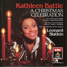Kathleen Battle Leonard Slatkin - A Christmas Celebration