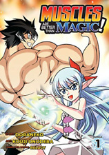 V01-Muscles Are Better Than Magic Manga V01 BOOK NEW