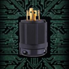 Outdoor Hot Power Locking NEMA L14-30P Twist-Lock Plug 30A 125-250V 4P 4W US TA