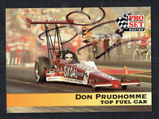 Don Prudhomme #103 signed autograph auto 1992 Pro Set Nhra Trading Card