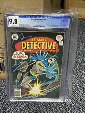 DETECTIVE COMICS #467 CGC 9.8 BATMAN HAWKMAN CALCULATOR ONLY 1 on EBAY