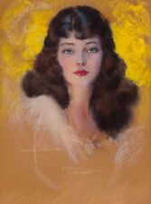 1940s Pin-Up Girl Timnah Rolf Armstrong Picture Poster Print Vintage Art Pin Up