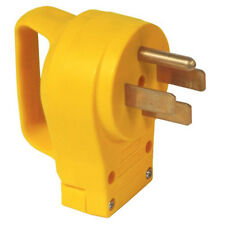 CAMCO 50 Amp Male Replacement Plug With Power Grip Handle RV Camper 55255
