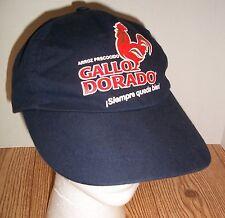 Gallo Dorado Arroz Precocido Rice Adjustable Cap Hat with Rooster Logo