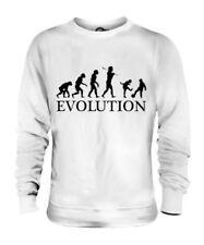 Niños Jugando Fútbol Evolution Of Man Unisex Suéter Hombre Mujer