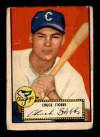 1952 Topps #62 Chuck Stobbs  F X1532450