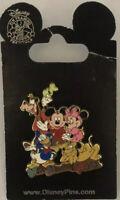 Disney World - Mickey Minnie Mouse - Goofy Donald Duck Pluto Fab 5 Gang Pin