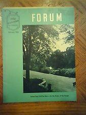"FORD ""MERCHANDISING SCHOOL""  FEB. 1952  FORUM   BOOK"