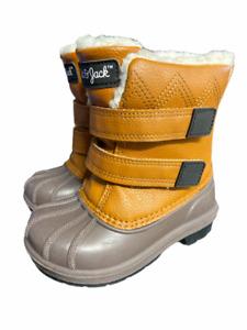 Cat & Jack Toddler Faux Fur Lined Snow/Rain Boots Kid's Size 7