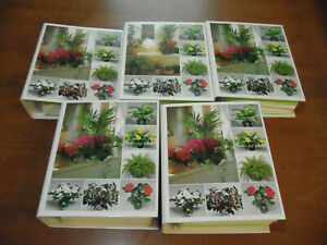 SUCCESS WITH HOUSE PLANTS Set of 5 Binders Gardening/Horticulture/Green Thumb