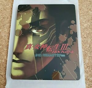 Shin Megami Tensei III NOCTURNE HD REMASTER Steelbook GEO limited PS4 Switch