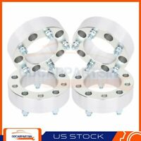 """(4) 2"""" Thick Wheel Spacers 5x150 14x1.5 Studs For Lexus LX470 LX470 1998-2007"""