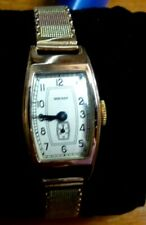 "Soviet Russian(USSR)very Rare Gold Ledies watch ""ZWEZDA(STAR)""with Gold bracelet"