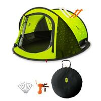 Pop Up Tent 2 Persons Family Camping Tent 3 Seconds Automatic Opening Waterproof