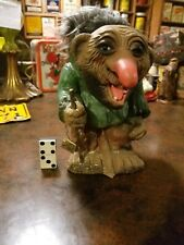 Vintage 60s Heico bobblehead nodder troll doll Germany with tags