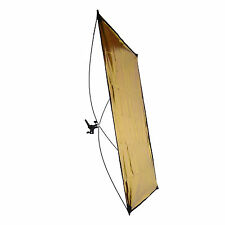 Reflektorpanel DynaSun RE2018 Reflektor Panel Silber/Gold 100x140cm
